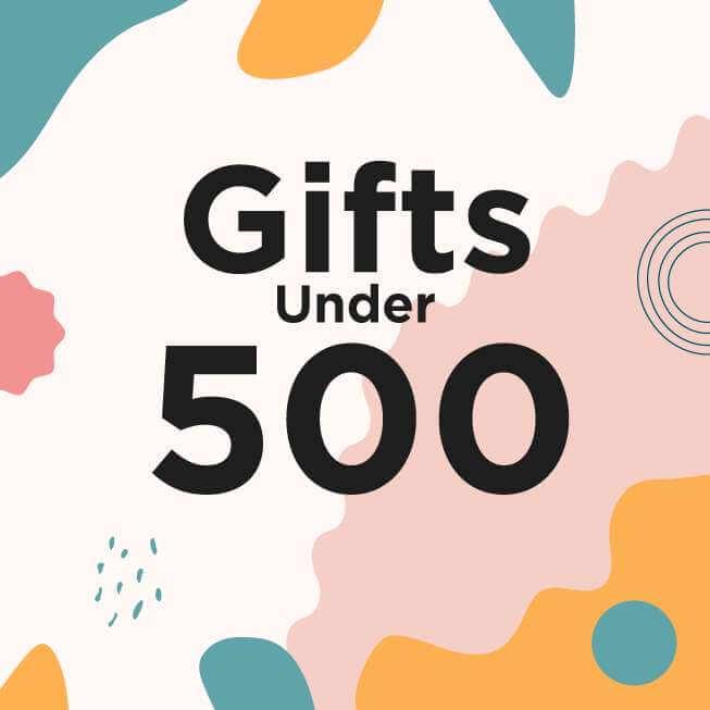 Gifts under 500 Popbox banner