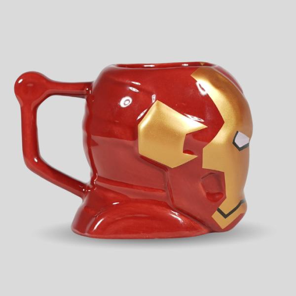 3D Iron Man Mug Coffee