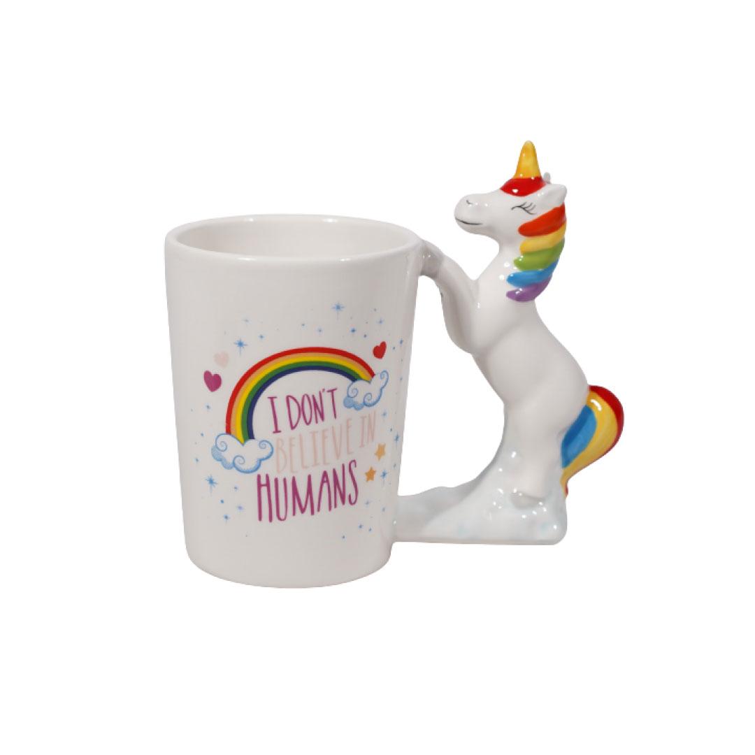 3D Unicorn Rainbow Mug