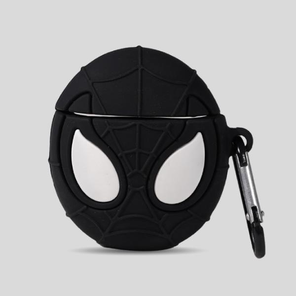 Black Spider Airpods Case