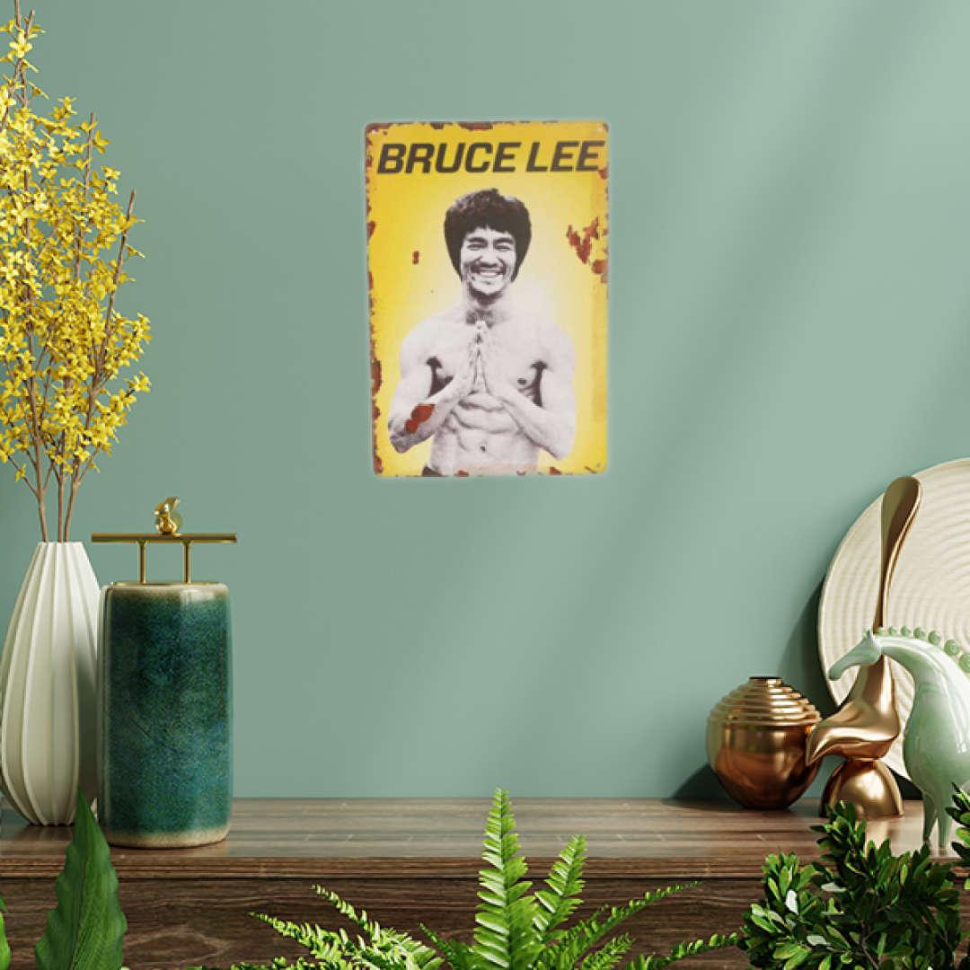 Bruce Lee Tin Poster