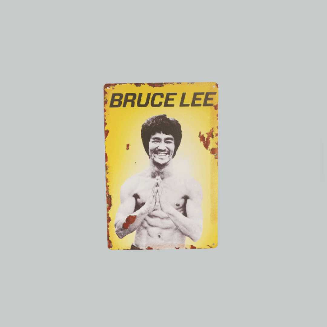 Bruce Lee Tin Posters