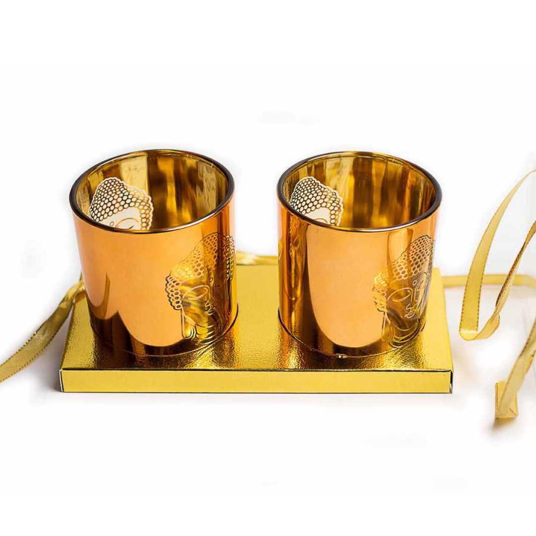 Buddha Glasses Candle stand