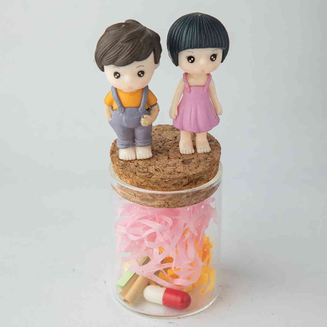 Couple Love Message Jar