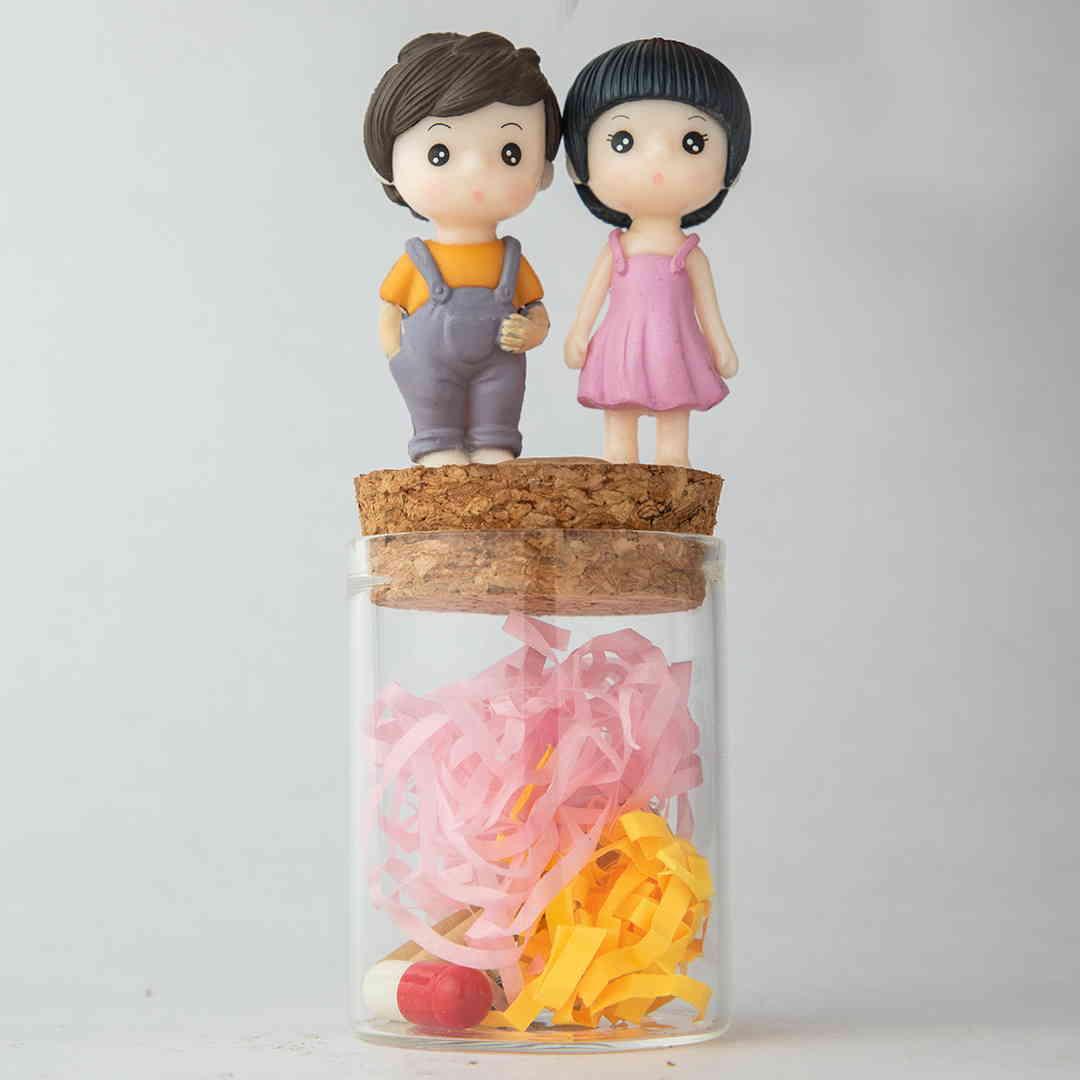 Couple Love Message Jars