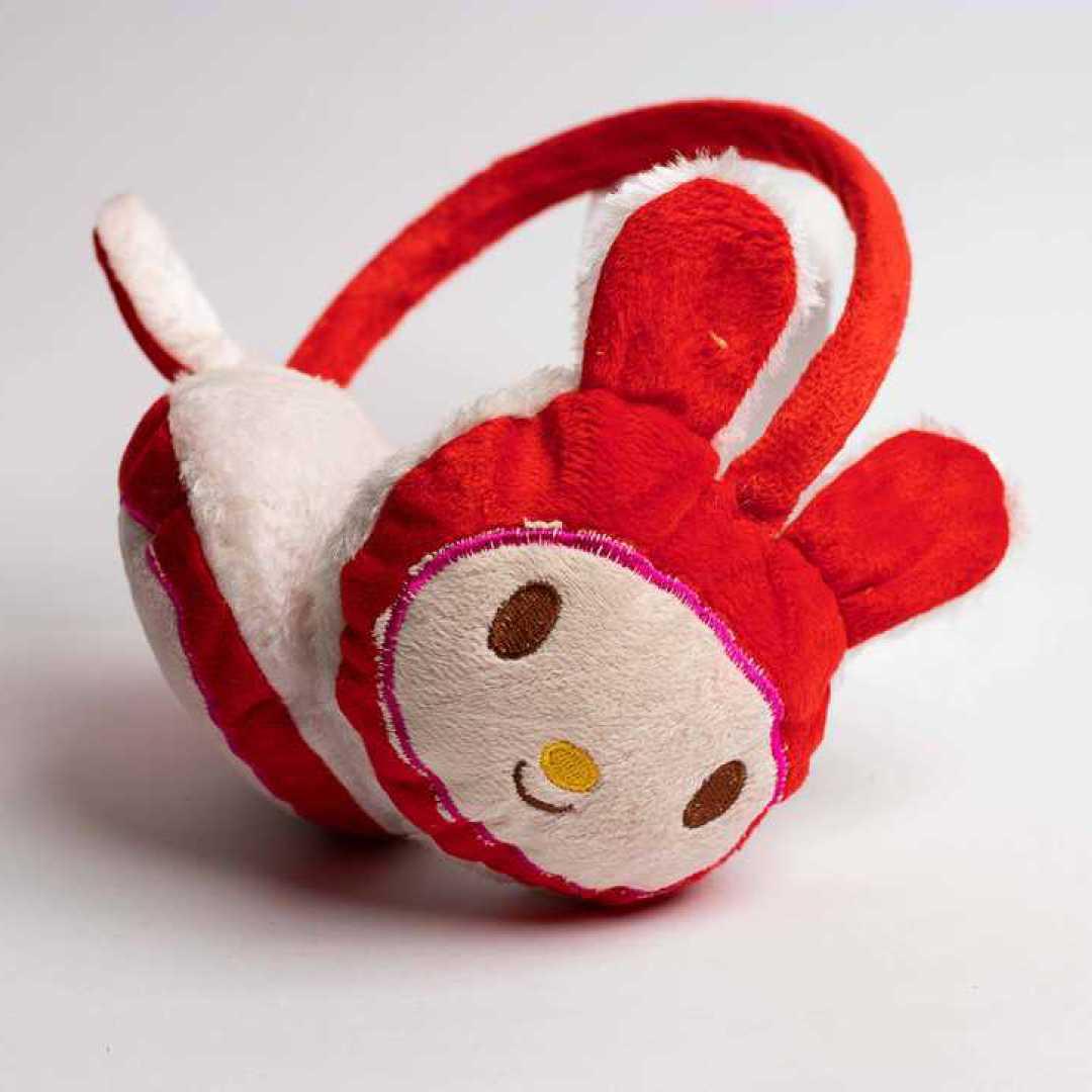 Ear Muff Red