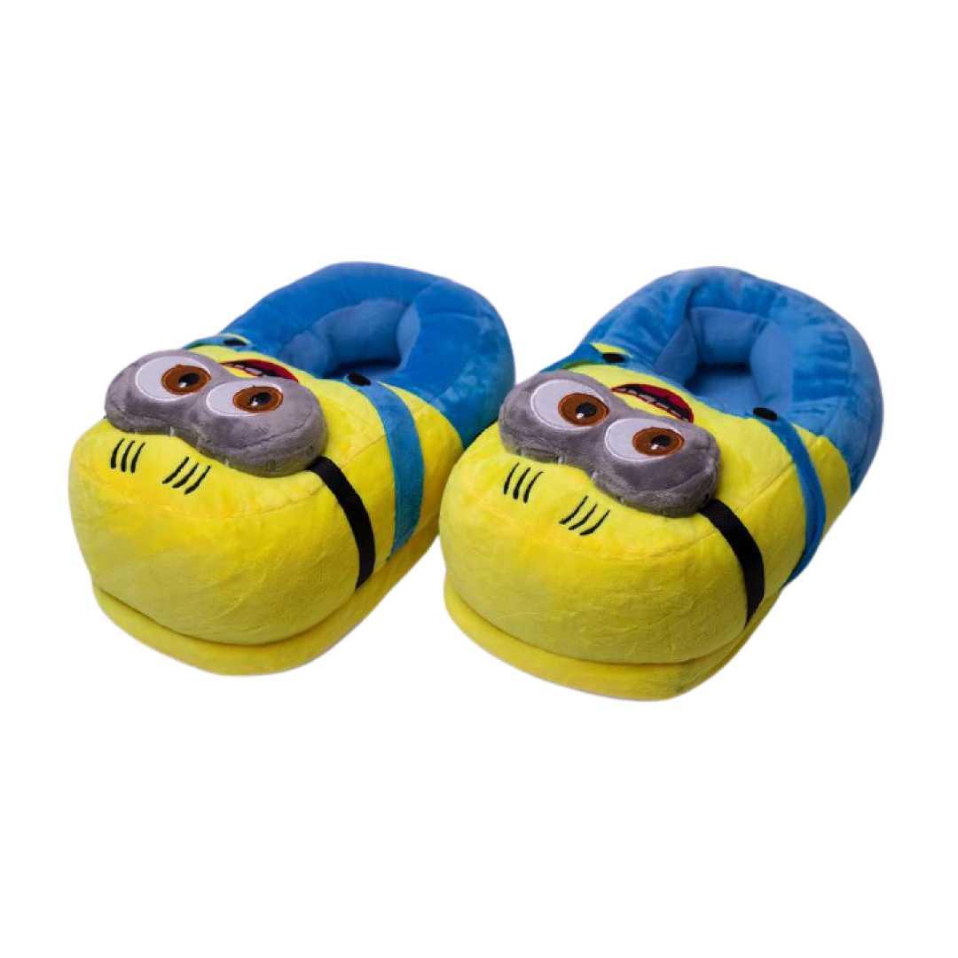 Exclusive Minion Plush Slippers Funny