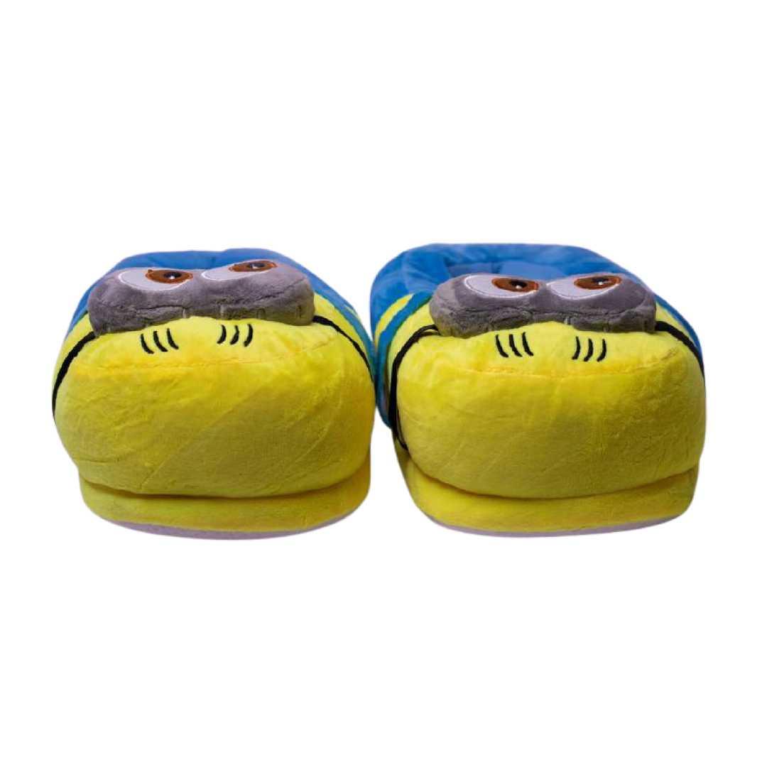 Exclusive Minion Plush Slippers Yellow