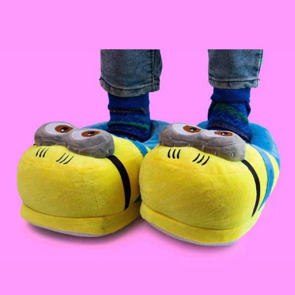 Exclusive Minion Plush Slippers