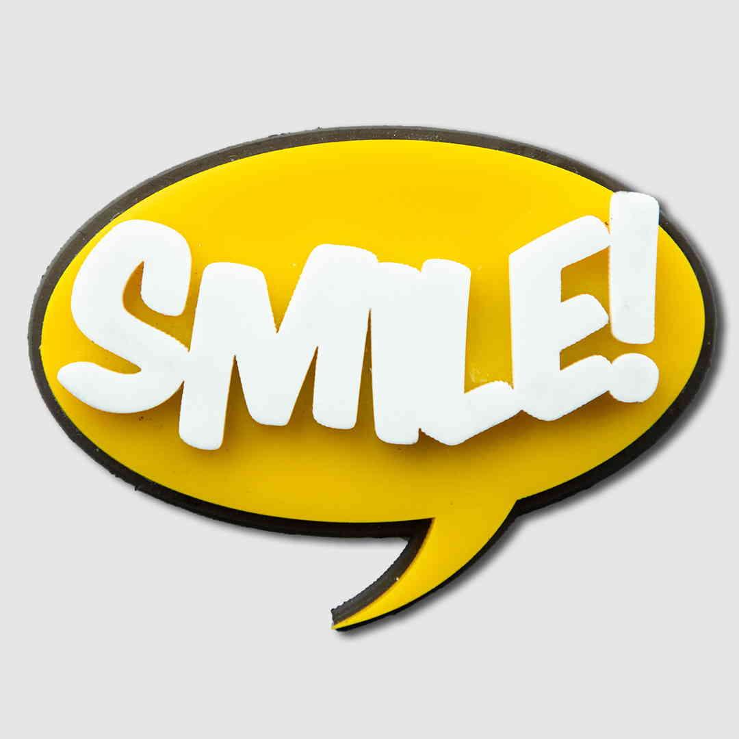 Fridge magnet SMILE!