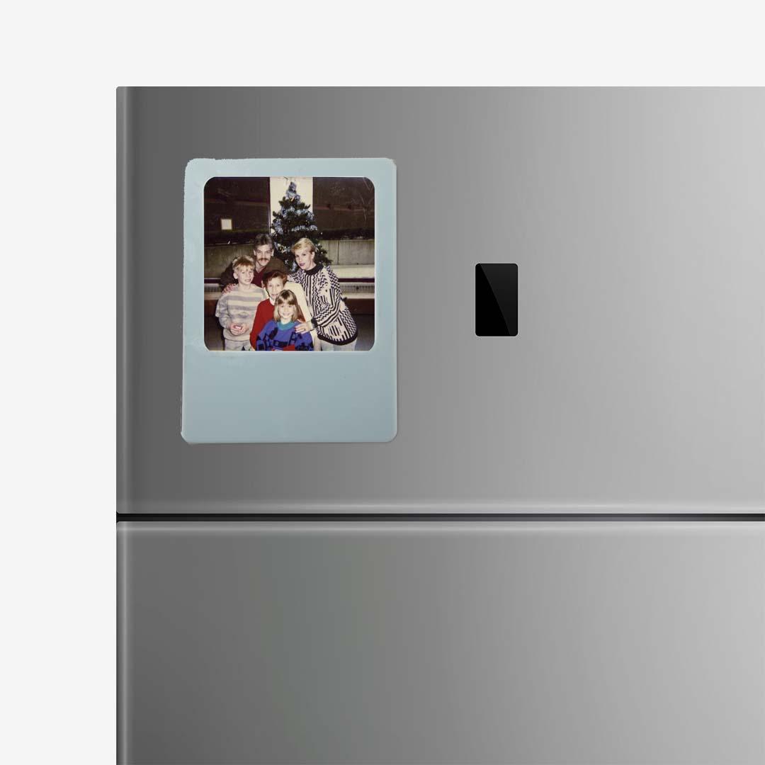Grey Photo Frame Magnet