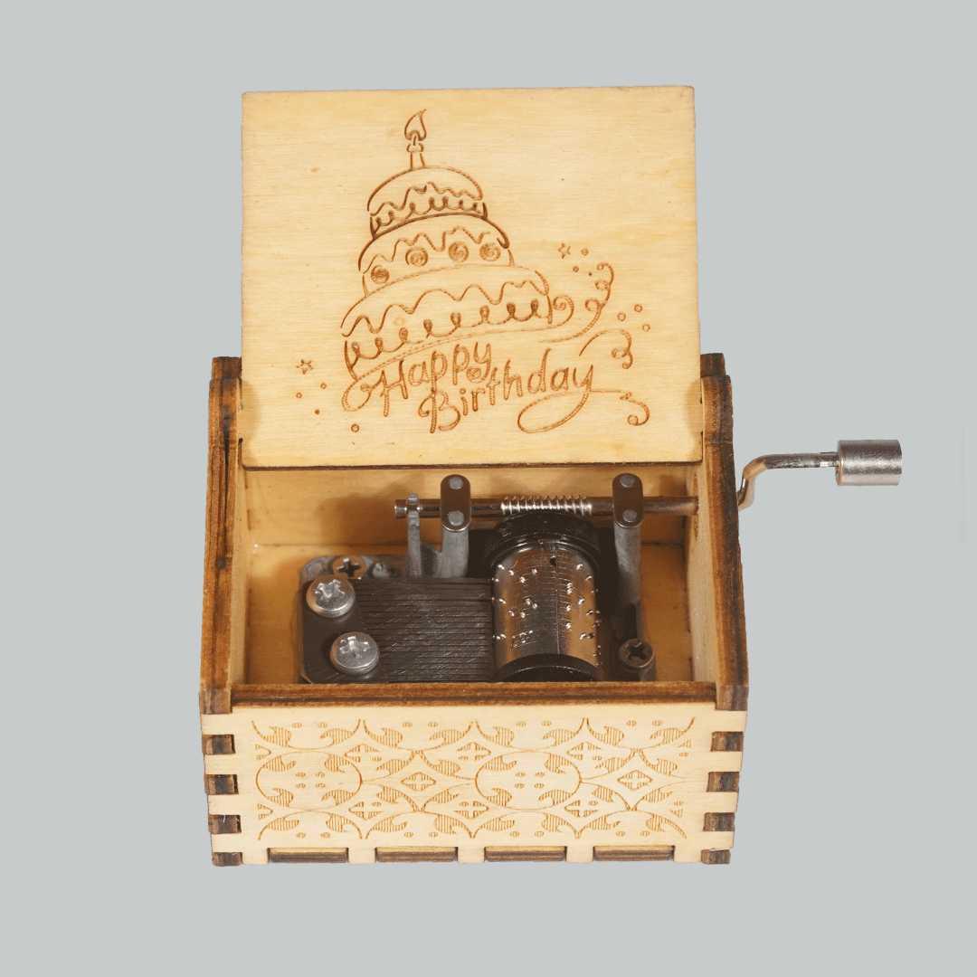 Happy Birthday Cute Music Box