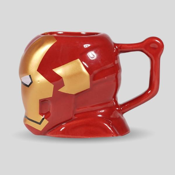 Iron Man 3D Coffee Mug