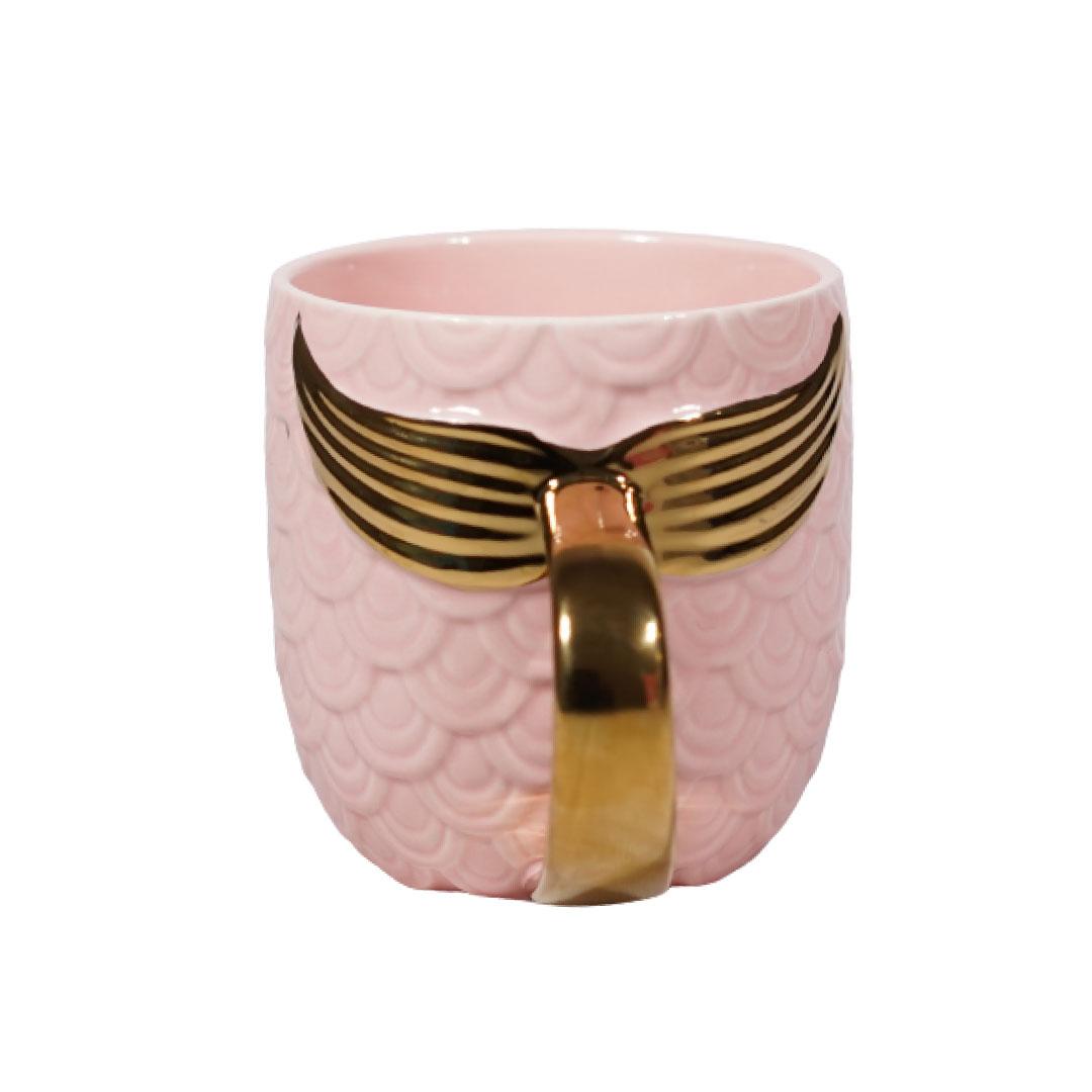 Mermaid Fishtail 3D Mug(Pink)