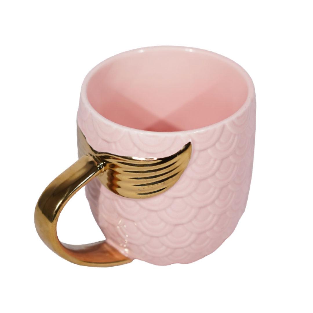Mermaid Pink Fishtail 3D Mug