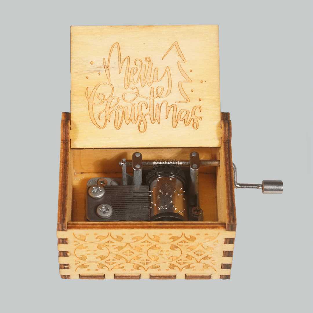Merry Christmas Music Box