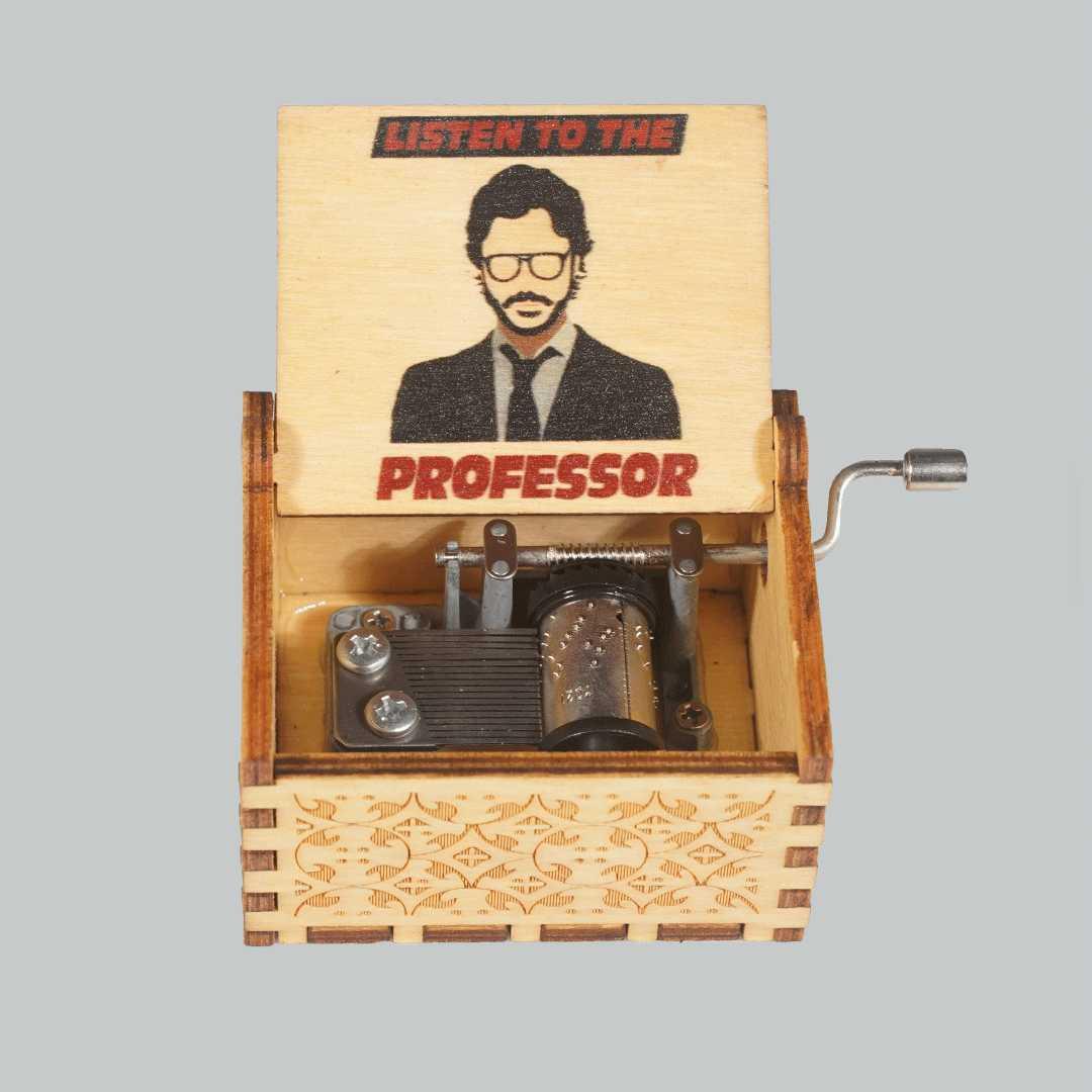 Money Heist Professor Music Box
