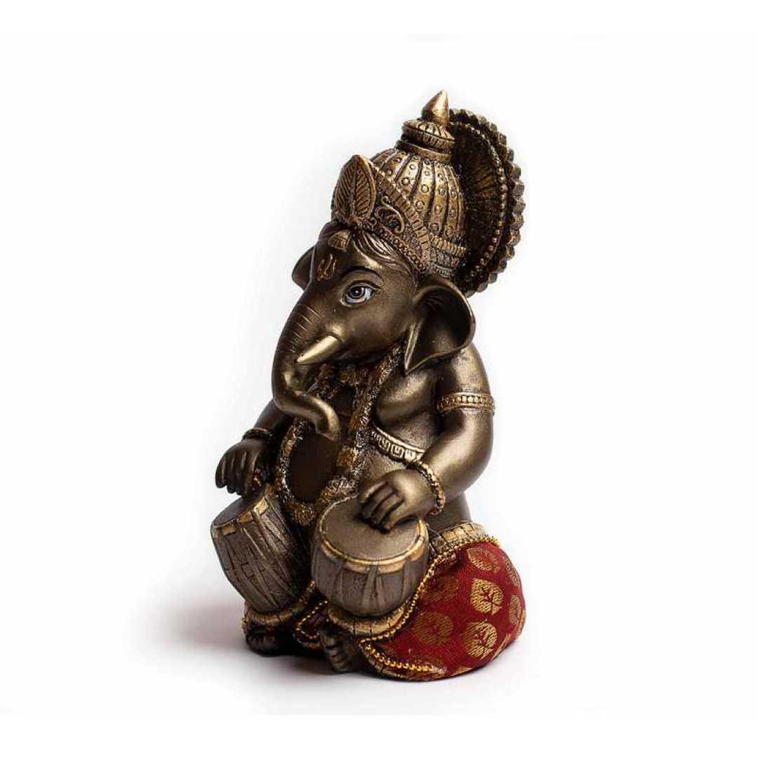 Music Ganesha Cute Tabla