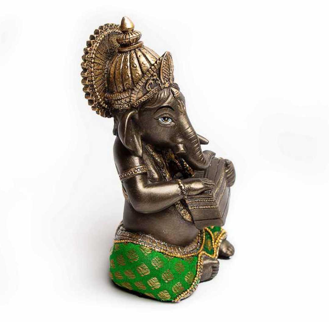 Music Ganesha Harmonium Murti