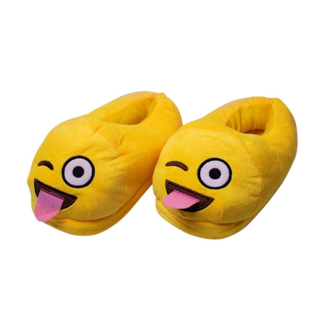 Naughty Yellow Slippers