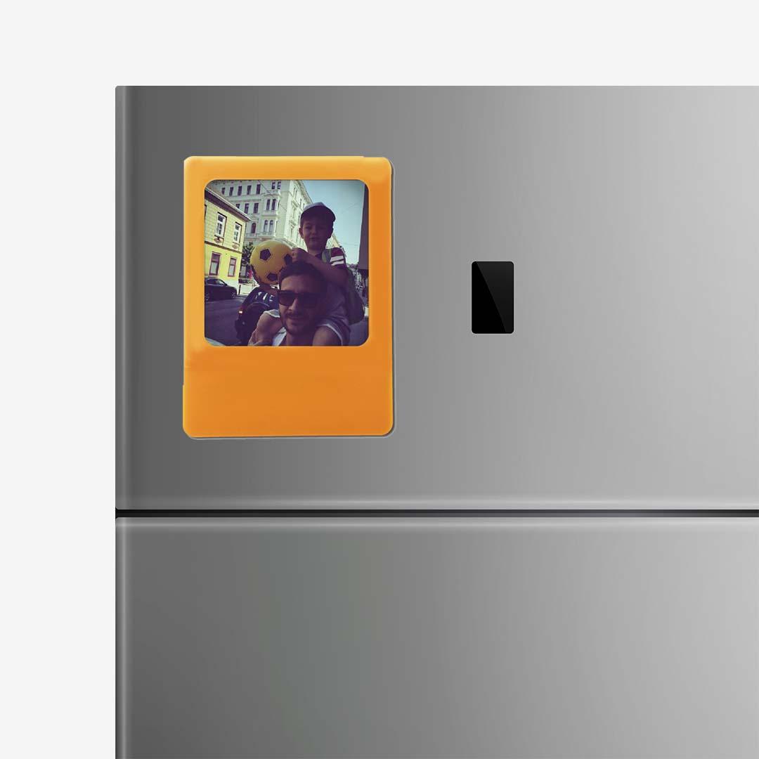 Orange Photo Frame Magnet
