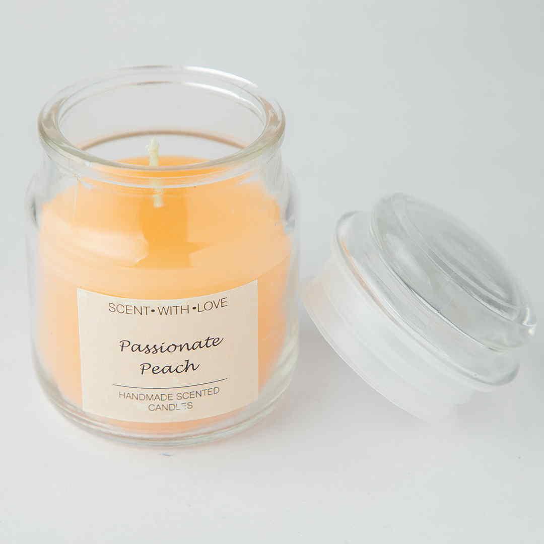 Passionate Peach Handmade Candles