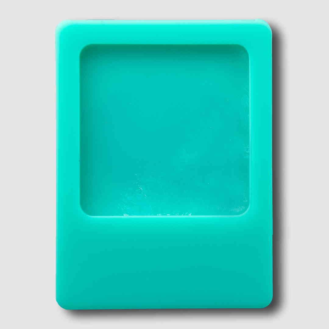 Photo Frame Blue Magnet