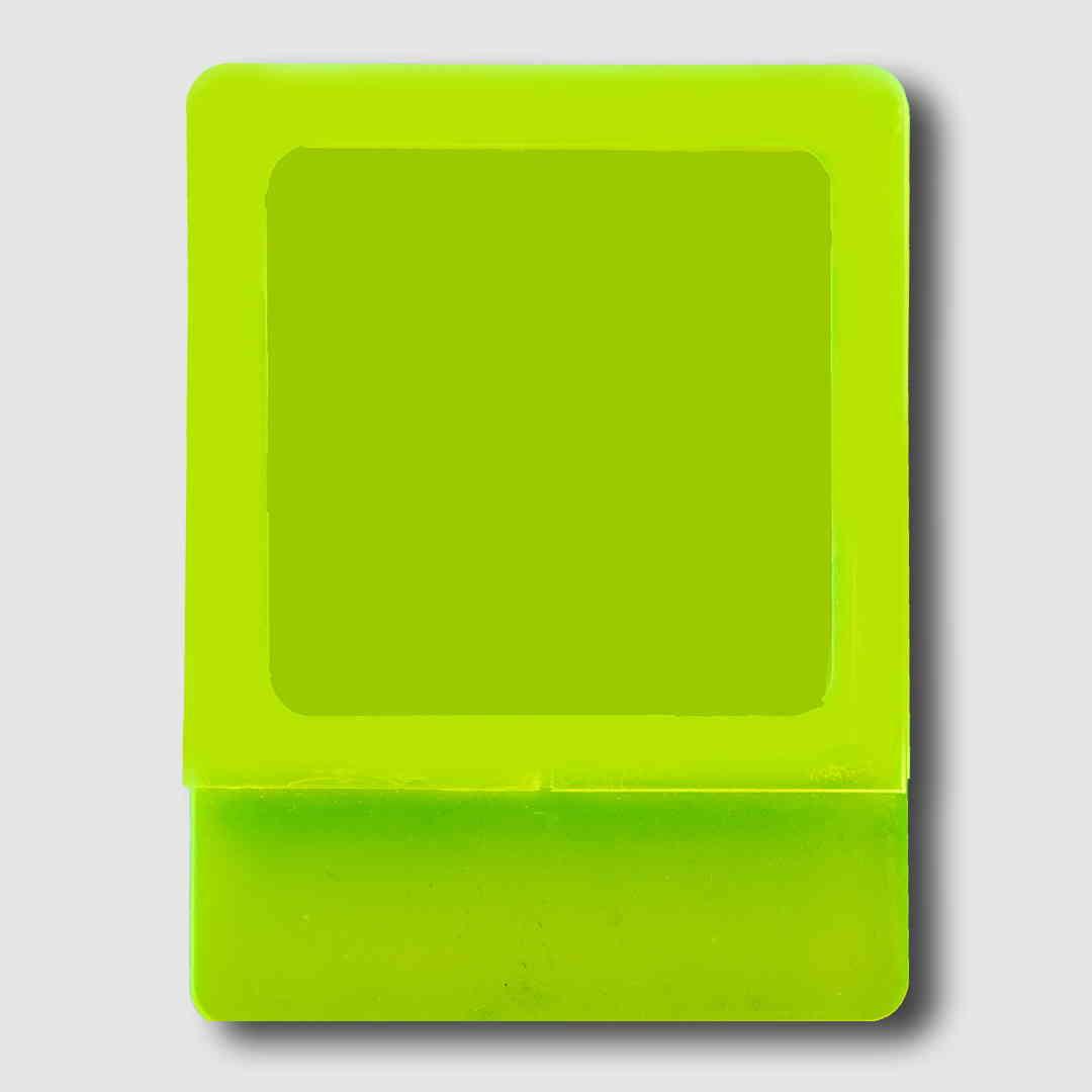 Photo Frame Green Magnet