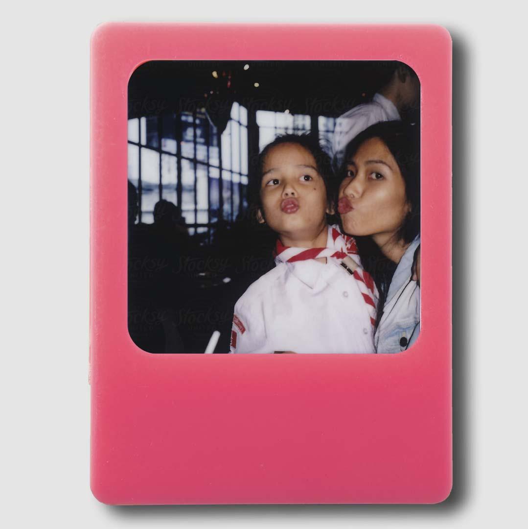 Photo Frame Pink Magnet