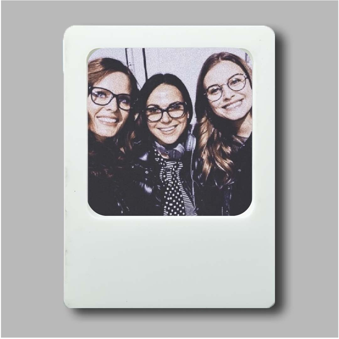 Photo Frame White Magnet
