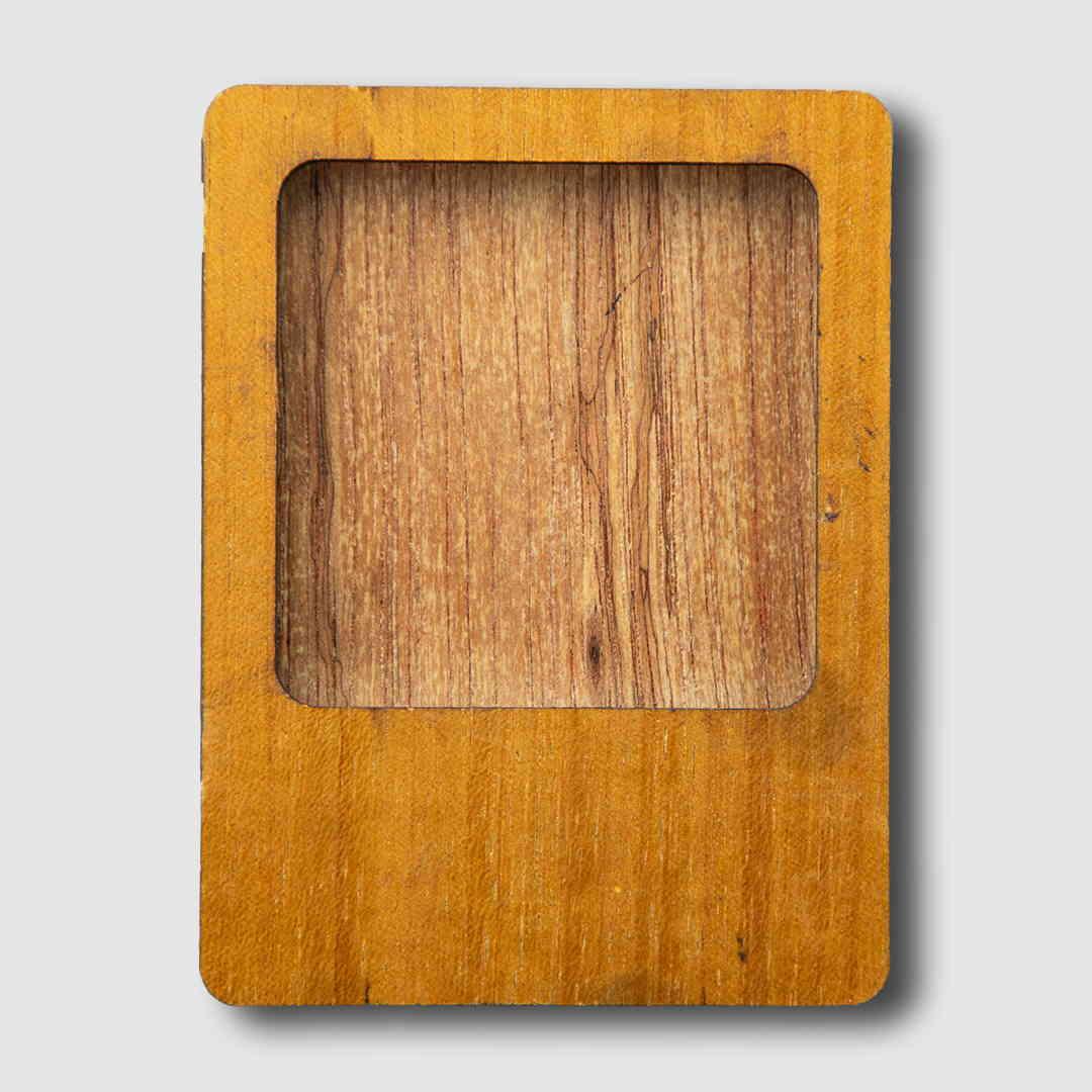 Photo Frame Wood Magnet