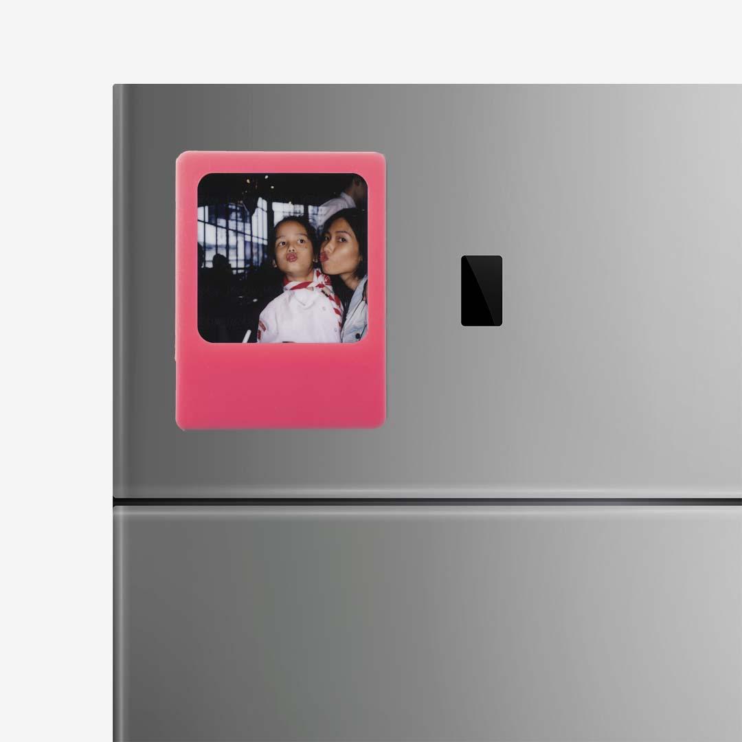Pink Photo Frame Magnet