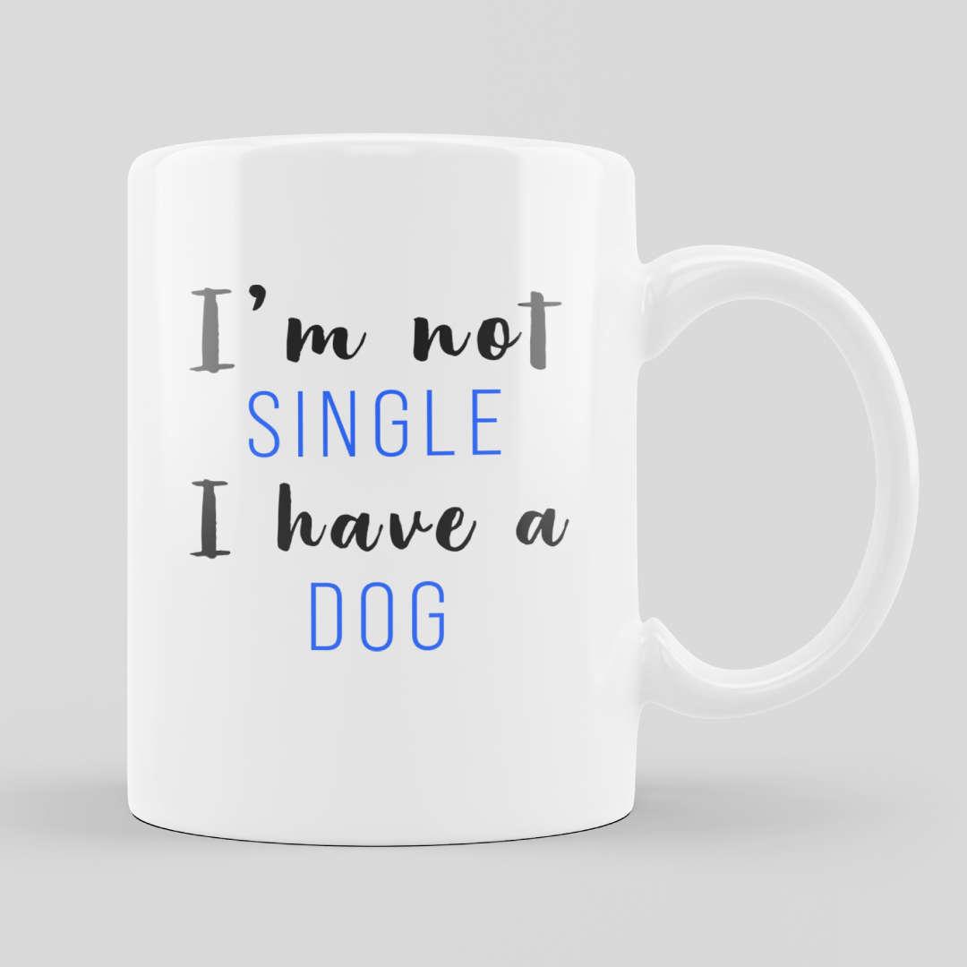 Relationship Dog White Mug