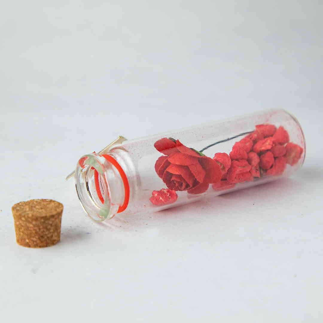 Rose Message Bottles