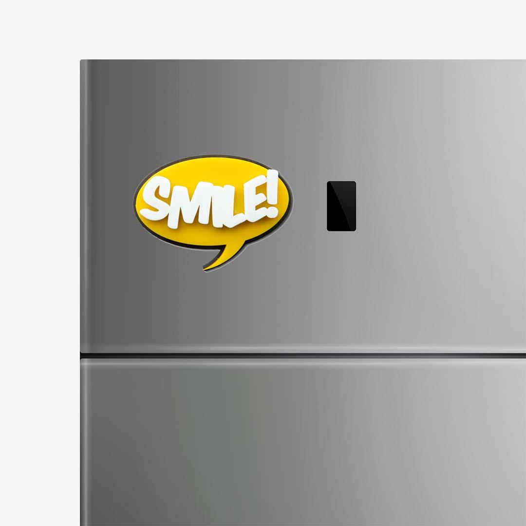 SMILE! Fridge magnet