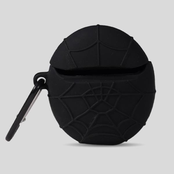 Spider Airpods Case Black
