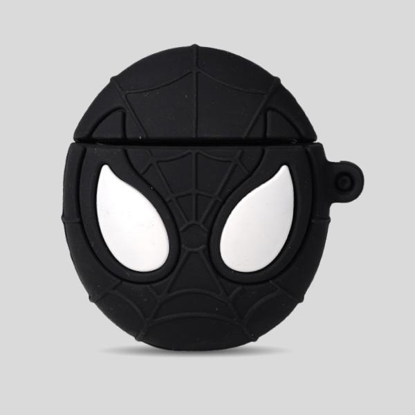 Spider Black Airpods Case