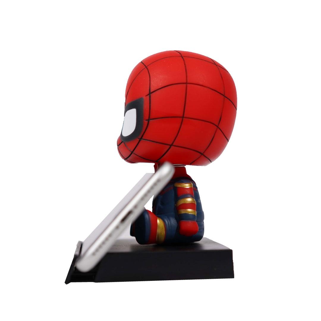 Spider Man Bobble Head Red