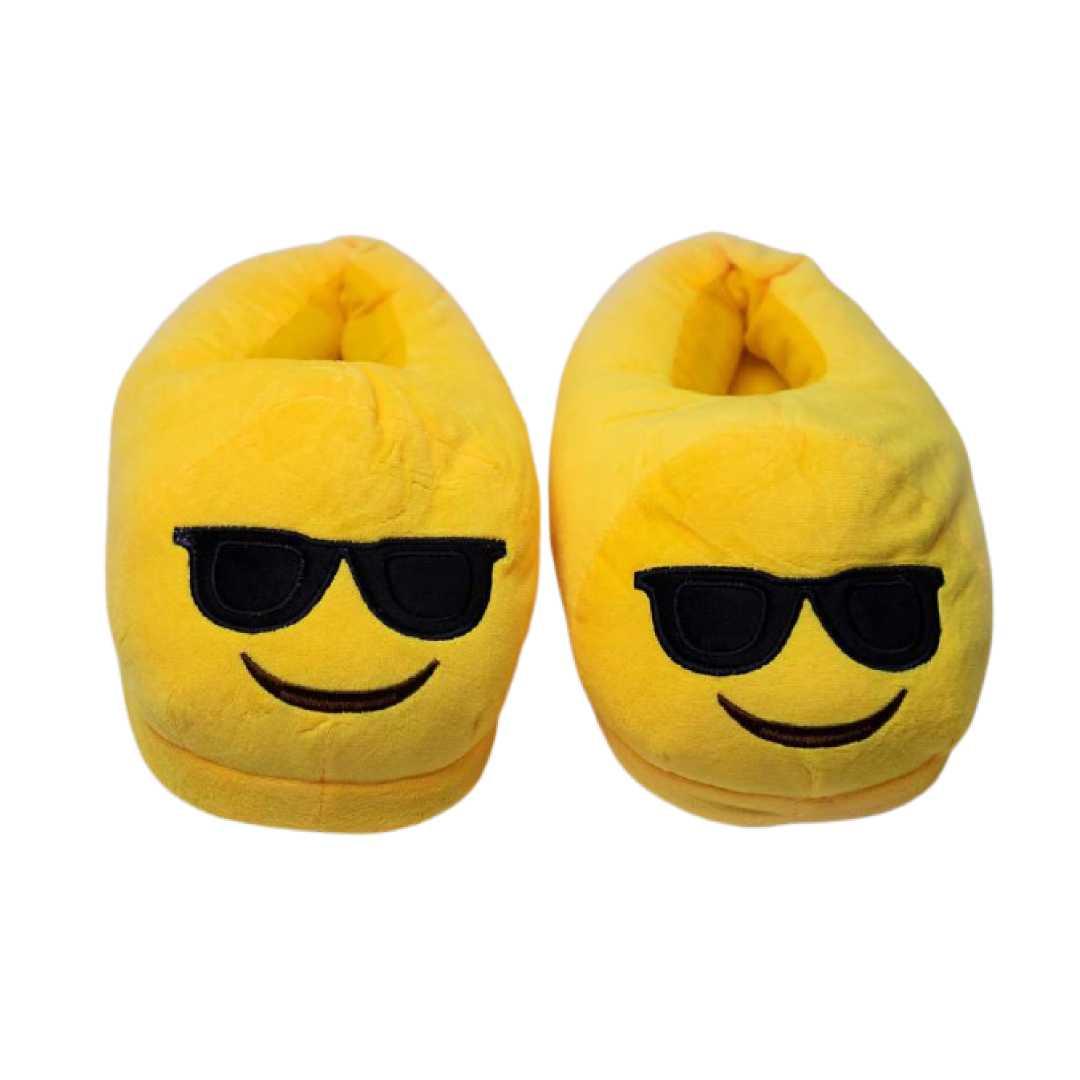 Super Cool Yellow Plush Slippers