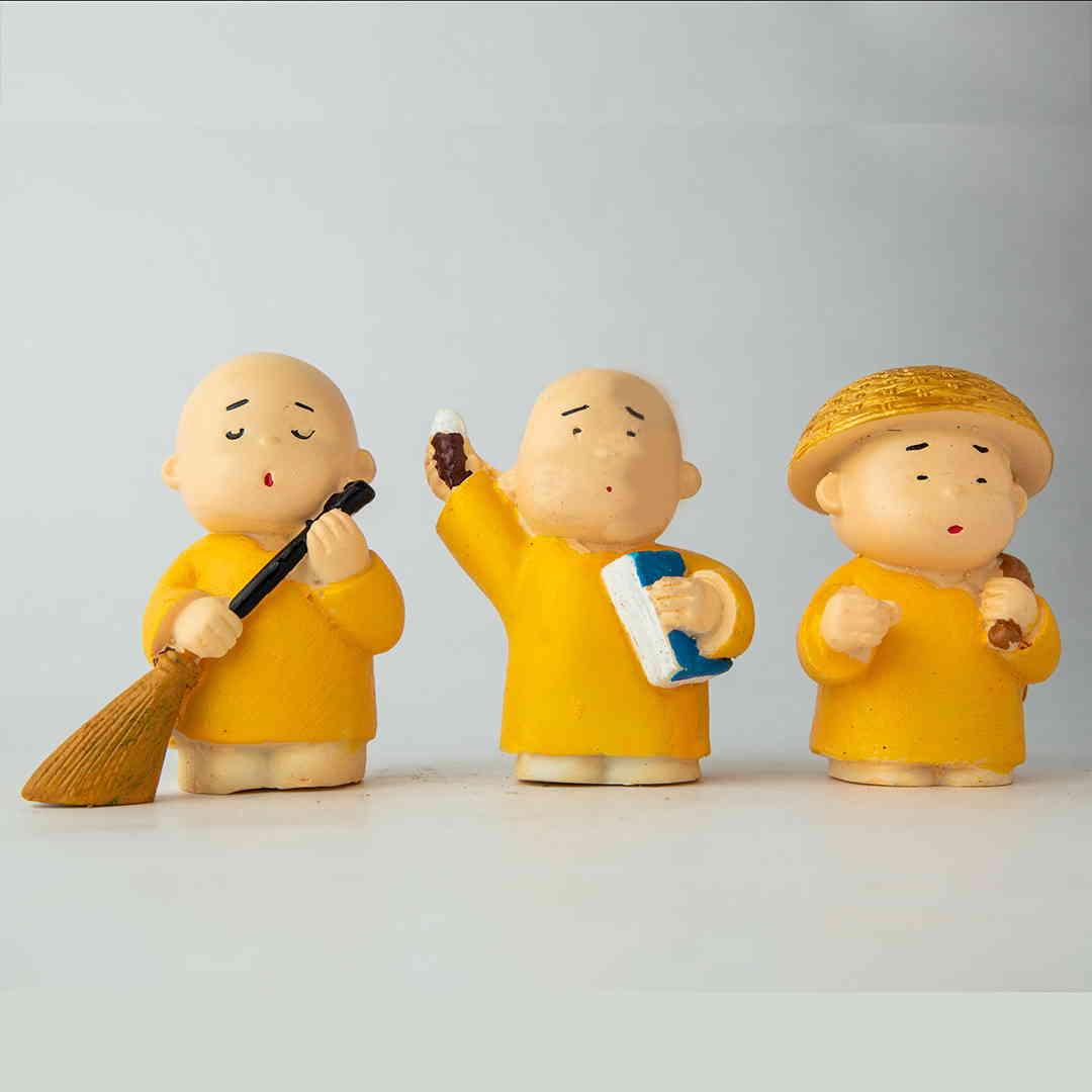 Swatch Bharat Monks