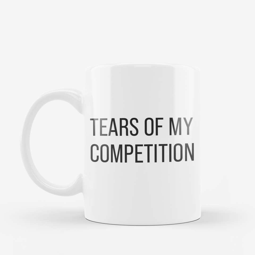 Tears Of My Competition Mug White