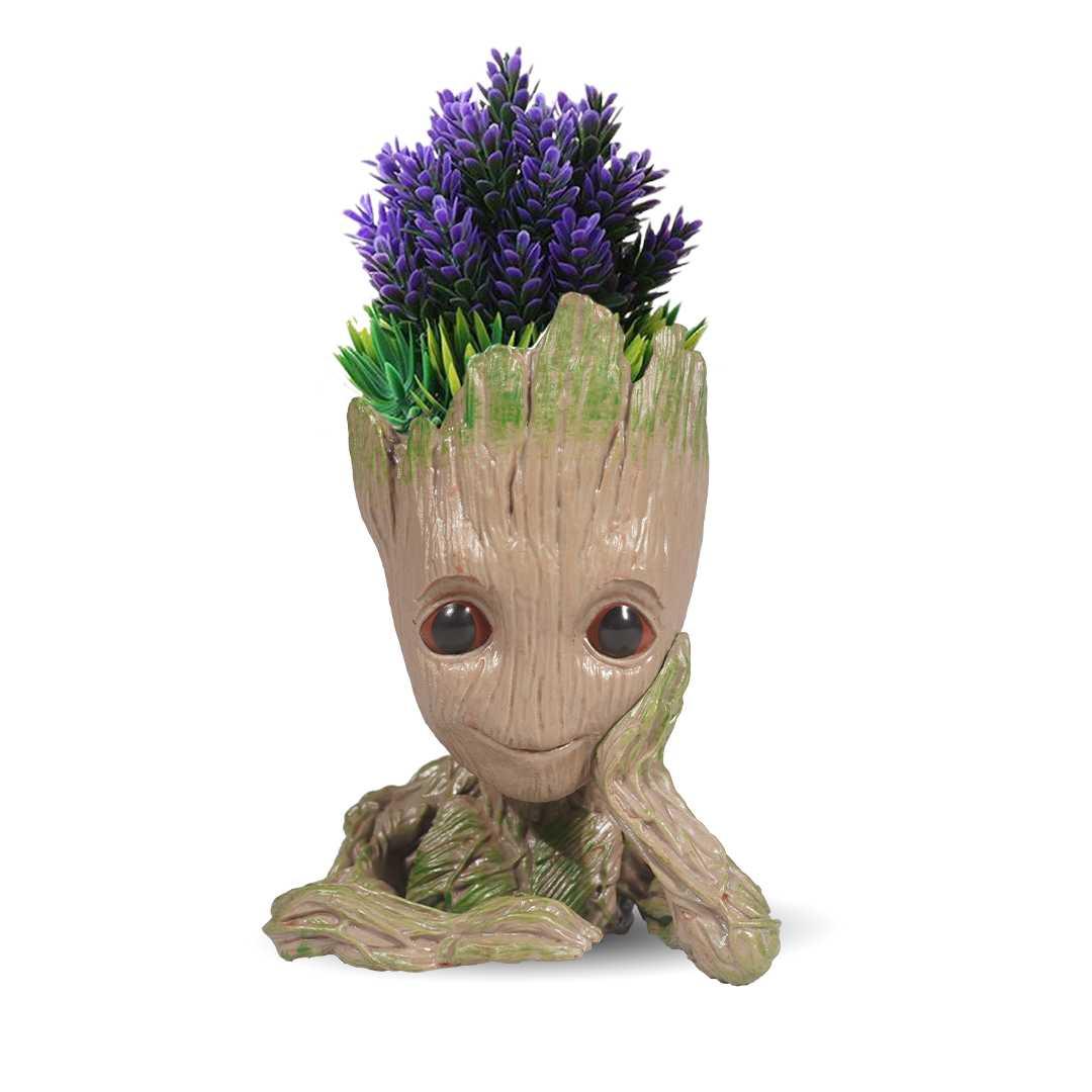 Thinking Groot Flower Pot