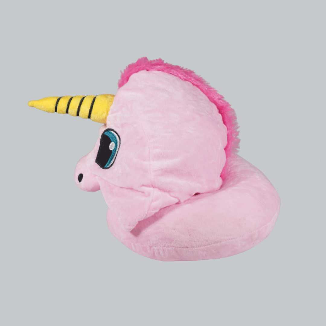 Unicorn Neck Pillow (Pink)