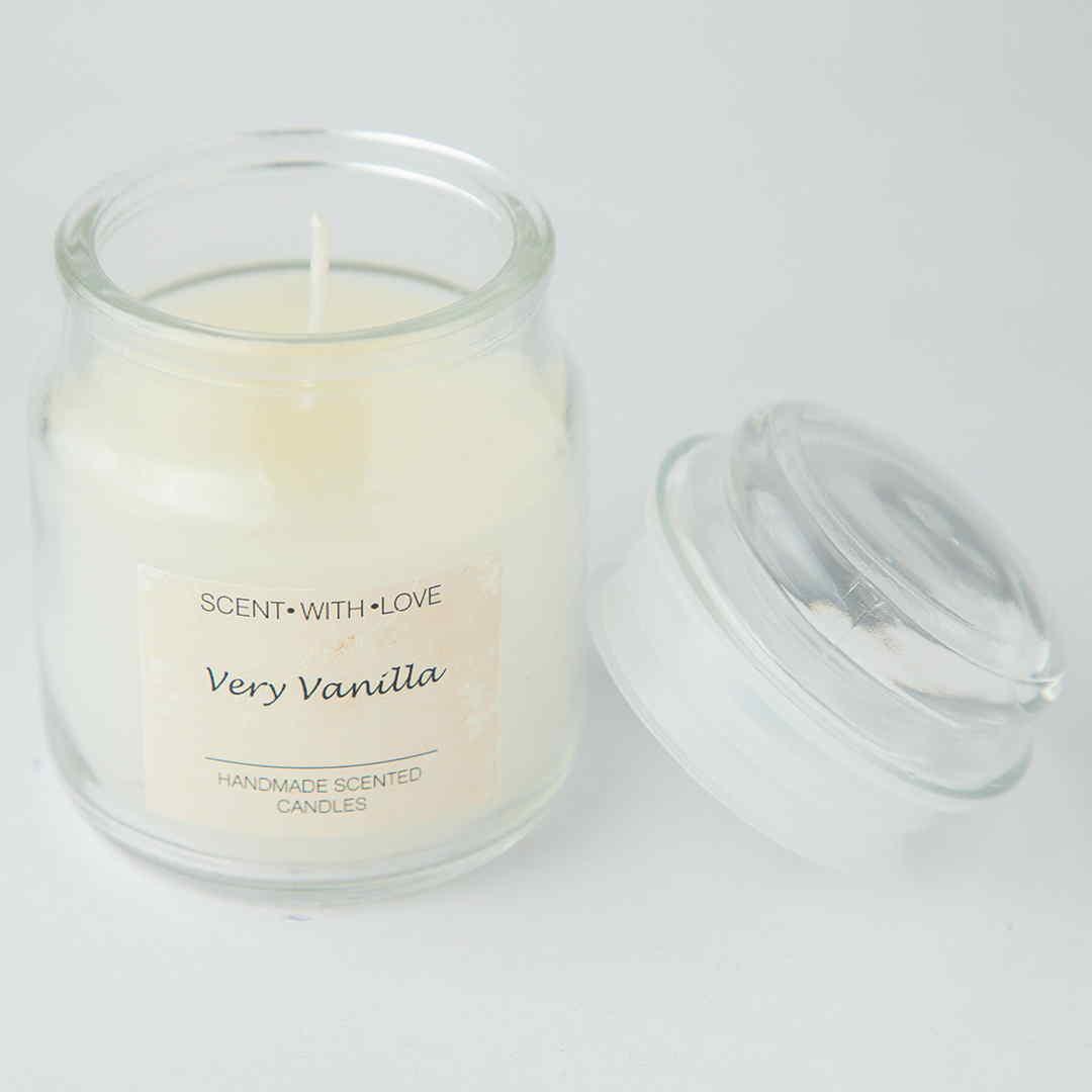 Very Vanilla Handmade Candle