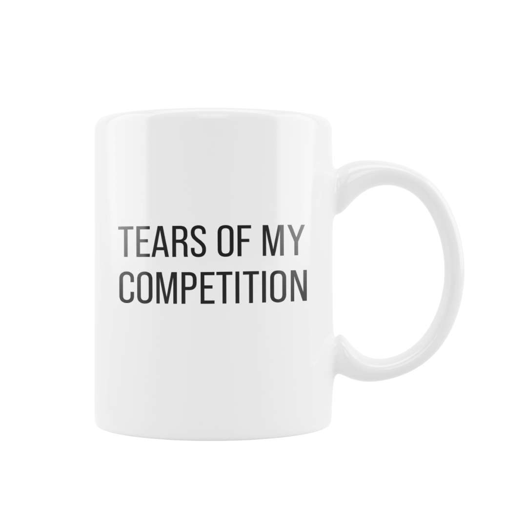 White Tears Of My Competition Mug