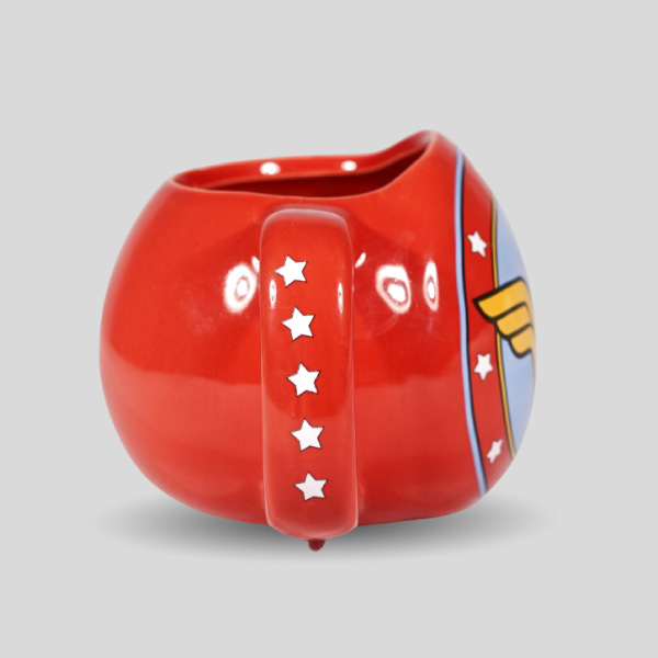 Wonder Woman 3d Coffee Tea Mug