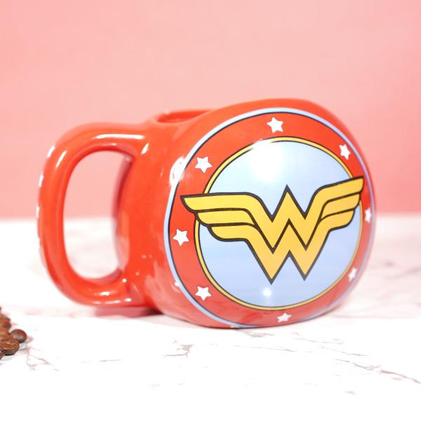 Wonder Woman 3d Tea Coffee Mugs