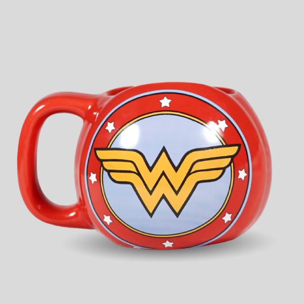 Wonder Woman 3d Tea Mugs