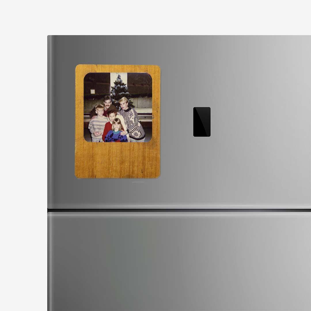 Wood Photo Frame Magnet