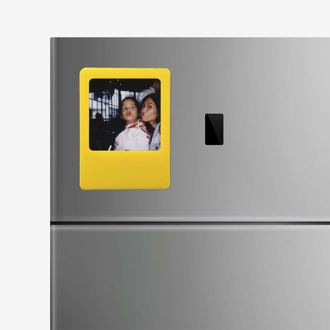 Yellow Photo Frame Magnet